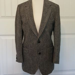Men's Stafford 100% Pure Scottish Wool Suit Jacket